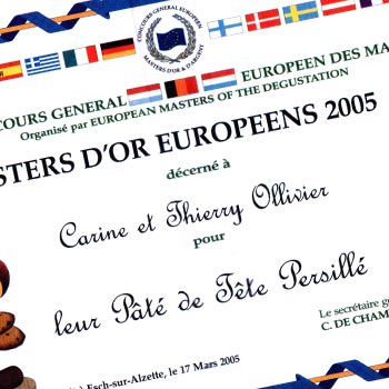 Charcuterie Ollivier Master